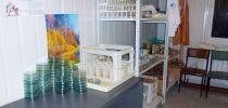 комната для мытья и сушки посуды, комплектующих